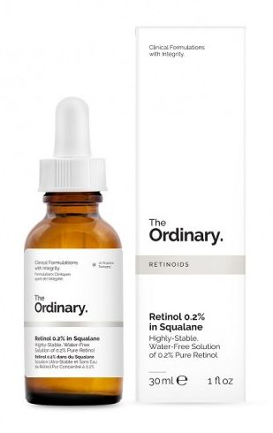 Retinol 0,2% en Escualano de The Ordinary